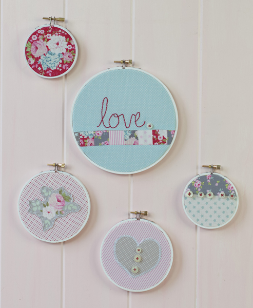 How to simple embroidery hoop art scc mag