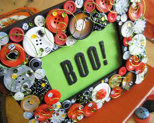 Boo Mixed Media Halloween Frame Scc Mag
